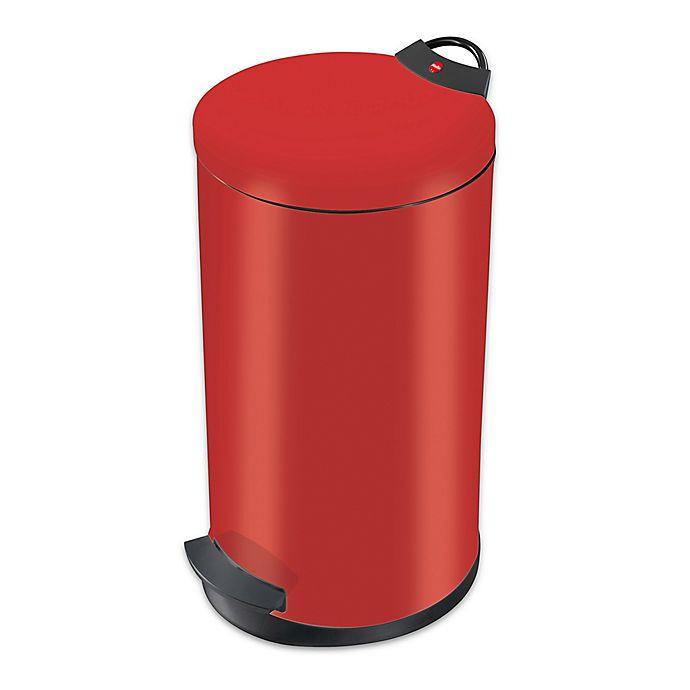 Alternate image 1 for Round Steel 20-Liter Waste Bin