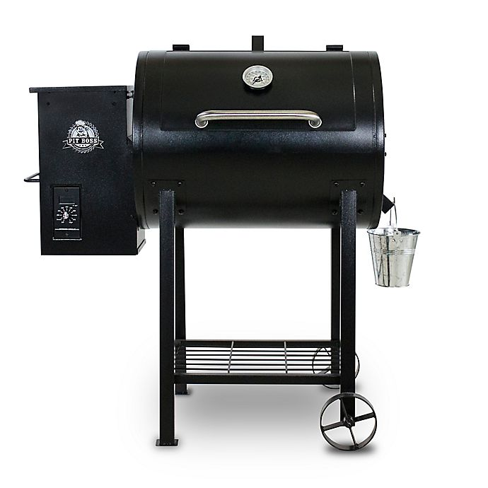 Alternate image 1 for Pit Boss 71700FB Wood Pellet Grill with Flame Broiler
