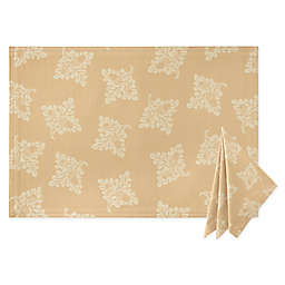 Waterford® Linens Chaparrel Placemat and Napkin Collection in Wheat