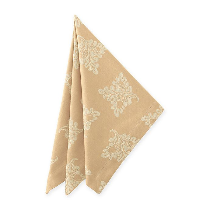Alternate image 1 for Waterford® Linens Chaparrel Napkin in Wheat (Set of 2)