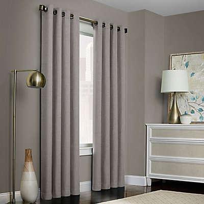 Brielle Solid Grommet Top Window Curtain Panel
