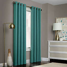 Brielle Solid Grommet Top Window Curtain Panel