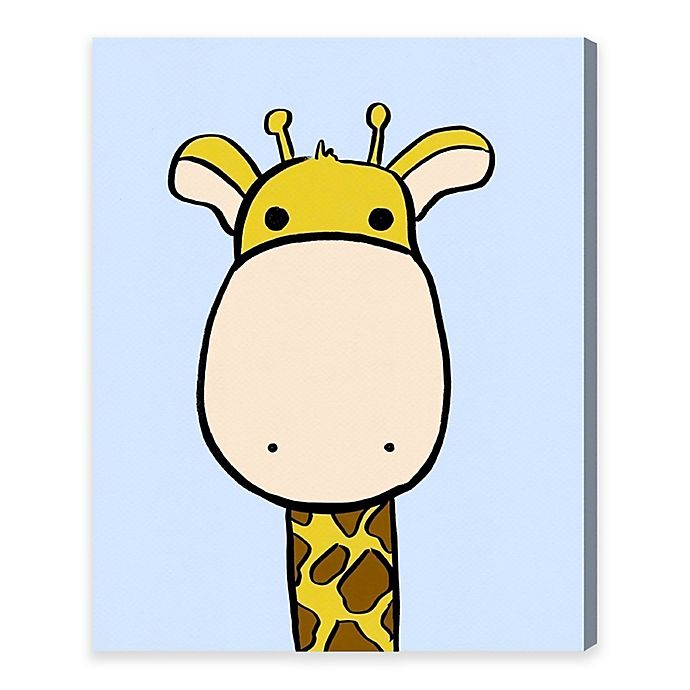 Alternate image 1 for Olivia's Easel 17-Inch x 20-Inch Giraffe Canvas Wall Art