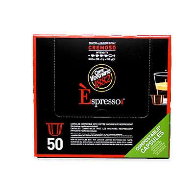 Caffe Vergnano® 50-Count Cemoso Espresso Capsules