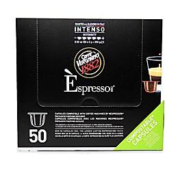 Caffe Vergnano® 50-Count Intenso Espresso Capsules