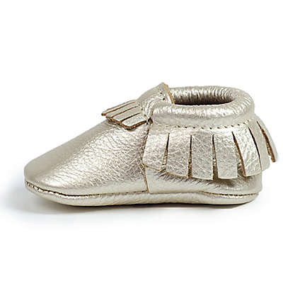 Freshly Picked Moccasins in Platinum