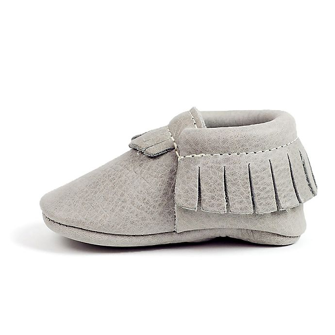 Freshly Picked Moccasins In Light Grey Bed Bath Amp Beyond
