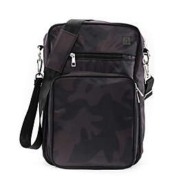 Ju-Ju-Be® Onyx Helix Messenger Diaper Bag in Black Ops
