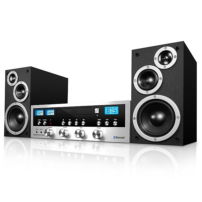 Innovative Technology™ CD Stereo System with Bluetooth in ...