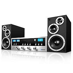 Innovative Technology™ CD Stereo System with Bluetooth in Black