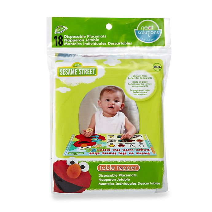 Alternate image 1 for Sesame Street® 18-Count Table Toppers®