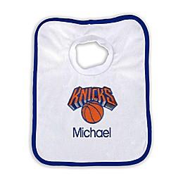 Designs by Chad and Jake NBA Personalized New York Knicks Bib