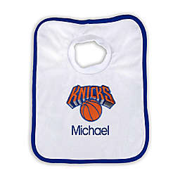 Designs by Chad and Jake NBA Personalized New York Knicks Bib