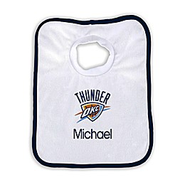 Designs by Chad and Jake NBA Personalized Oklahoma City Thunder Bib