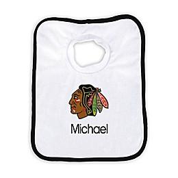 Designs by Chad and Jake NHL Personalized Chicago Blackhawks Bib