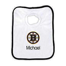 Designs by Chad and Jake NHL Personalized Boston Bruins Bib