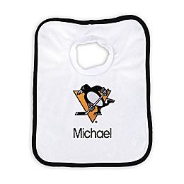 Designs by Chad and Jake NHL Personalized Pittsburgh Penguins Bib