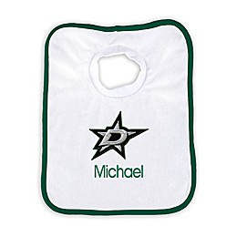 Designs by Chad and Jake NHL Personalized Dallas Stars Bib