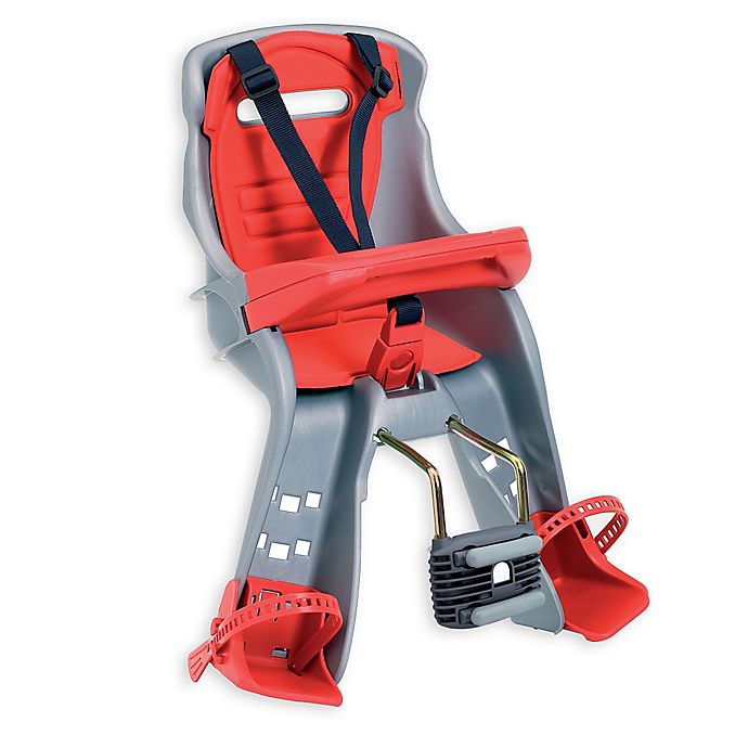 Alternate image 1 for Peg Perego Orion Child Bike Seat in Grey/Red