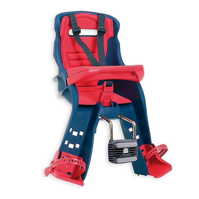 Alternate image 1 for Peg Perego Orion Child Bike Seat in Red/Blue