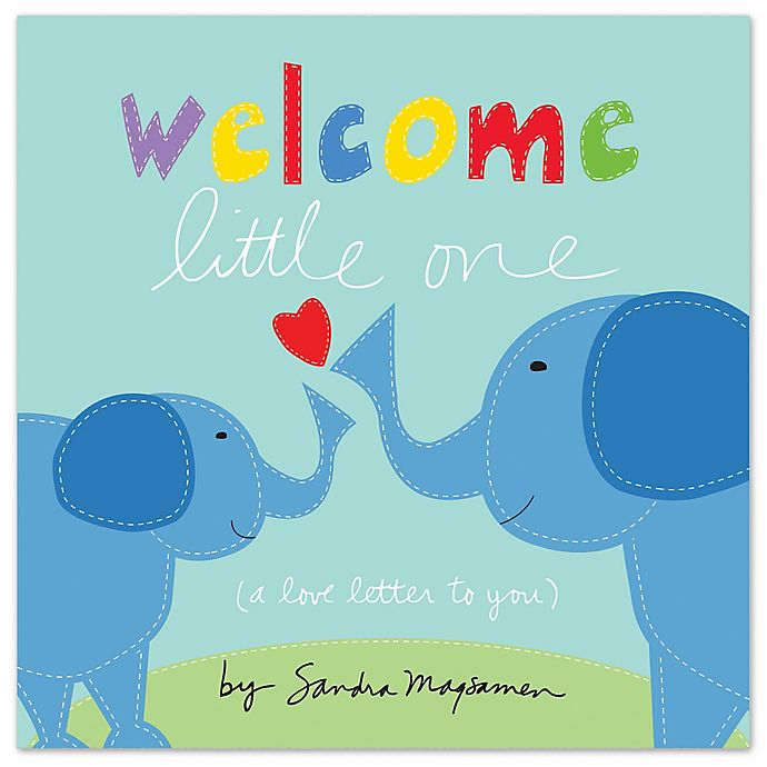 Alternate image 1 for Sourcebooks Welcome Little One Board Book