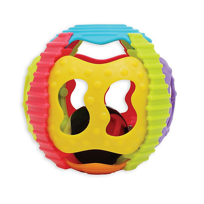 Alternate image 1 for Playgro™ Shake, Rattle, & Roll Ball