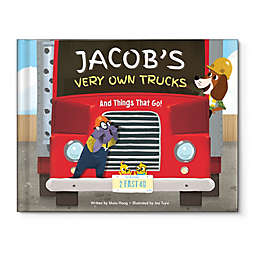 """My Very Own Trucks"" Book by Maia Haag"