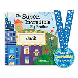 """Super, Incredible Big Brother"" Book by Jennifer Dewing"
