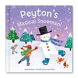 """My Magical Snowman"" Book by Jennifer Dewing"