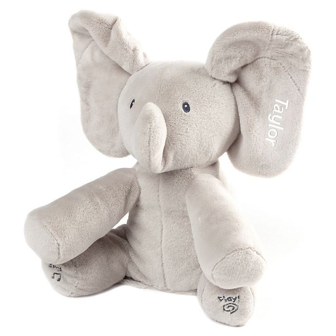 Alternate image 1 for Gund® Flappy The Elephant in Grey