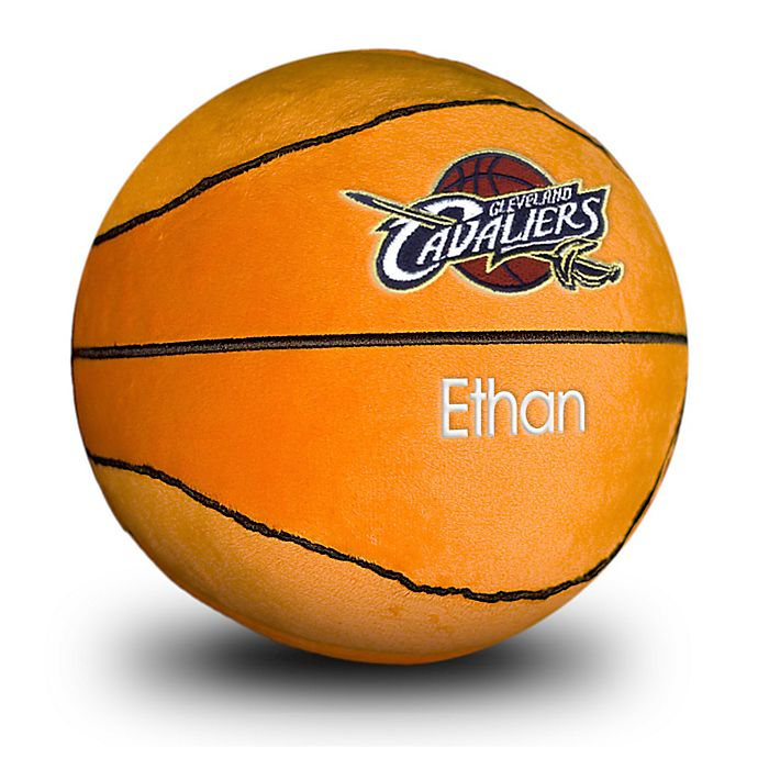 Alternate image 1 for Designs by Chad and Jake NBA Cleveland Cavaliers Personalized Plush Basketball