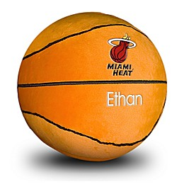 Designs by Chad and Jake NBA Miami Heat Personalized Plush Basketball