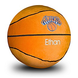 Designs by Chad and Jake NBA New York Knicks Personalized Plush Basketball