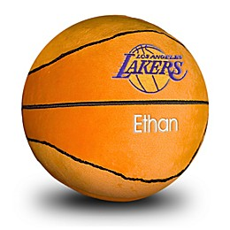 Designs by Chad and Jake NBA Los Angeles Lakers Personalized Plush Basketball
