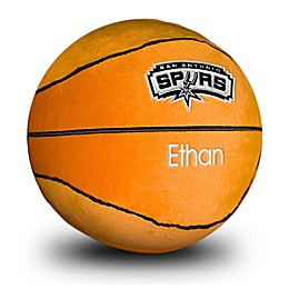Designs by Chad and Jake NBA San Antonio Spurs Personalized Plush Basketball
