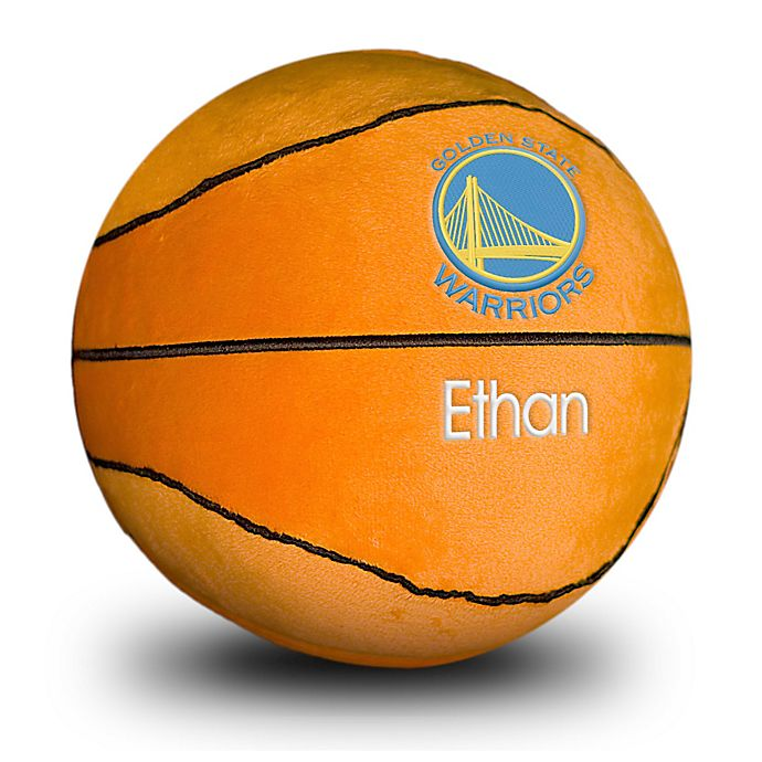Alternate image 1 for Designs by Chad and Jake NBA Golden State Warriors Personalized Plush Basketball