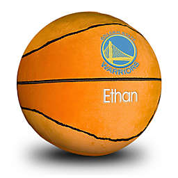 Designs by Chad and Jake NBA Golden State Warriors Personalized Plush Basketball