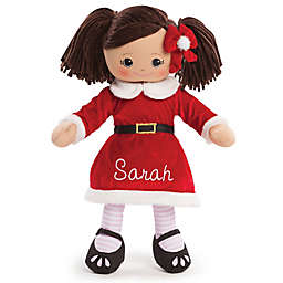Hispanic Santa Dress Doll in Red