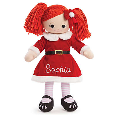 Santa Dress Doll in Red
