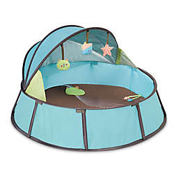 babymoov® Anti-UV Playpen in Blue/Taupe