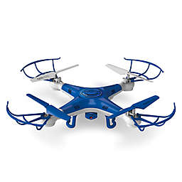 Quadrone Pro Cam Flying Drone in Blue