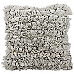 Mina Victory™ 20-Inch Loop Shag Square Throw Pillow in Grey