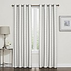 Darcy 84-Inch 100% Blackout Grommet Top Window Curtain Panel in White