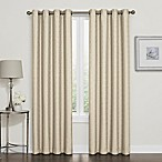 Darcy 84-Inch 100% Blackout Grommet Top Window Curtain Panel in Linen
