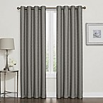 Darcy 84-Inch 100% Blackout Grommet Top Window Curtain Panel in Grey