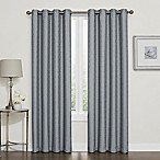 Darcy 84-Inch 100% Blackout Grommet Top Window Curtain Panel in Slate