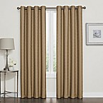 Darcy 84-Inch 100% Blackout Grommet Top Window Curtain Panel in Gold