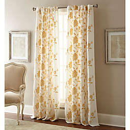 Jaylynn Rod Pocket Embroidered Window Curtain Panel