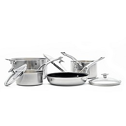 Ricardo 3-Ply Stainless Steel 7-Piece Cookware Set