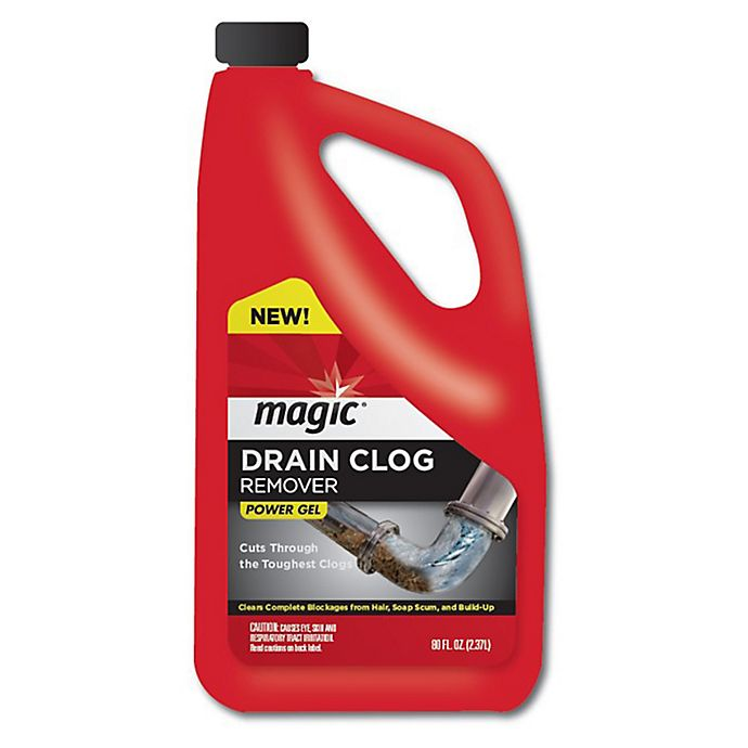 Buy Weiman 169 Magic 80 Oz Drain Clog Remover From Bed Bath